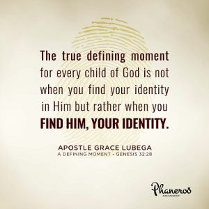 Phaneroo Devotion : A Defining Moment