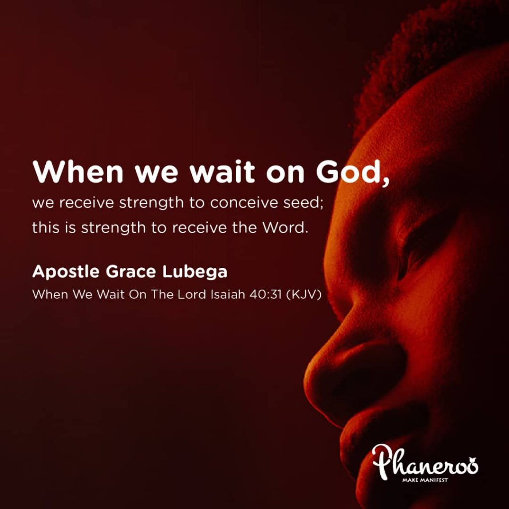 When We Wait On The Lord