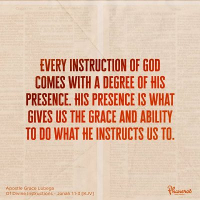 Of Divine Instructions