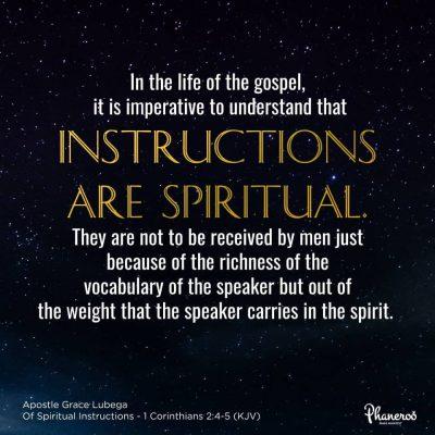 Of Spiritual Instructions